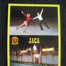 Postales: POSTAL JACA - ALTO ARAGON ( HUESCA ) - PISTA DE HIELO.. Lote 96097479