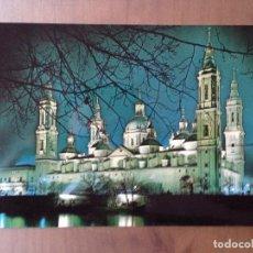 Postales: POSTAL ZARAGOZA BASILICA DEEL PILAR . Lote 96412883