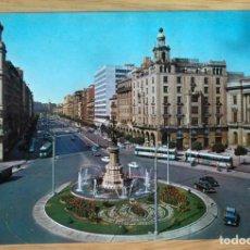Postales: ZARAGOZA - AVENIDA DE LA INDEPENDENCIA. Lote 97784843