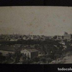 Postales: ZARAGOZA - POSTAL ANTIGUA - PARQUE CABEZO BUENAVISTA - VER REVERSO - (50.385). Lote 97949323