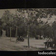 Postales: ZARAGOZA - POSTAL ANTIGUA - PARQUE CABEZO BUENAVISTA - VER REVERSO - (50.389). Lote 97949743