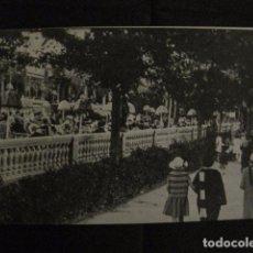 Postales: ZARAGOZA - POSTAL ANTIGUA-RESTAURANT LAS PALMERAS- PARQUE CABEZO BUENAVISTA - VER REVERSO - (50.392). Lote 97949955