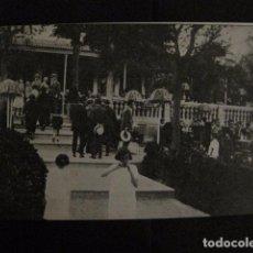 Postales: ZARAGOZA - POSTAL ANTIGUA-RESTAURANT LAS PALMERAS- PARQUE CABEZO BUENAVISTA - VER REVERSO - (50.393). Lote 97950043