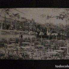 Postales: ZARAGOZA - POSTAL ANTIGUA-RESTAURANT LAS PALMERAS- PARQUE CABEZO BUENAVISTA - VER REVERSO - (50.394). Lote 97950111