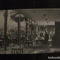 Postales: ZARAGOZA - POSTAL ANTIGUA-RESTAURANT LAS PALMERAS- PARQUE CABEZO BUENAVISTA - VER REVERSO - (50.395). Lote 97950167