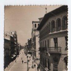 Postales: (ALB-TC-12) POSTAL HUESCA CIRCULADA CON SELLO CALLE DEL COSO ALTO. Lote 98162923