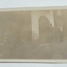 Postales: FOTOGRAFIA DEL PUEBLO DE LUNA, ZARAGOZA, AÑOS 20, MIDE 17,5 X 6,2 CMS.. Lote 98361907