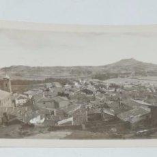 Postales: FOTOGRAFIA DEL PUEBLO DE LUNA, ZARAGOZA, AÑO 1925, MIDE 17,5 X 6,2 CMS.. Lote 98362147