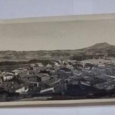 Postales: FOTOGRAFIA DEL PUEBLO DE LUNA, ZARAGOZA, AÑO 1925, MUY GRANDE MIDE 30 X 10 CMS.. Lote 98362787
