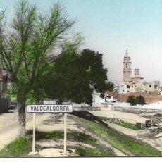 Postales: VALDEALGORFA-TERUEL. Lote 98669571