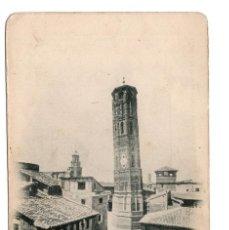 Postales: TARJETA POSTAL ZARAGOZA.- TORRE NUEVA (DERRIBADA). Nº27. Lote 98888823