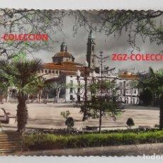 Postales: POSTAL - CALATAYUD (ZARAGOZA) - PLAZA DEL GENERALÍSIMO - ED. SICILIA - COLOREADA. Lote 98899683
