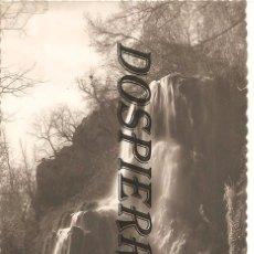Postales: POSTAL, ZARAGOZA, MONASTERIO DE PIEDRA, CASCADA TRINIDAD, SIN CIRCULAR. Lote 99174243