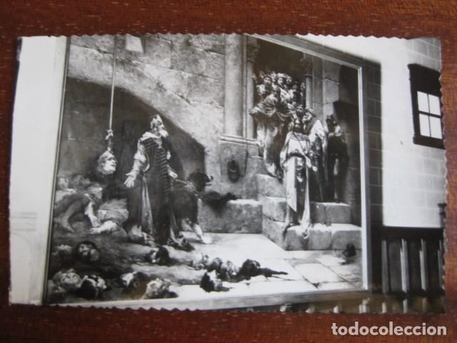 AÑO 1961 PRECIOSA POSTAL HUESCA. LA CAMPANA DE HUESCA. CUADRO EXPUESTO EN EL AYUNTAMIENTO. ESCRITA (Postales - España - Aragón Moderna (desde 1.940))