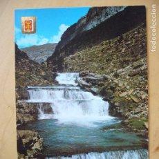 Postales: P.N. ORDESA (HUESCA) - GRADAS DE SOASO. Lote 100516051