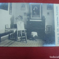 Postales: ZARAGOZA. COLEGIO CARMELITAS TERCIARIAS. C. CÁDIZ 2. N 6. CLASE DE DIBUJO. SIN CIRCULAR.. Lote 103074259