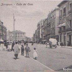Postales: ZARAGOZA - CALLE DEL COSO. Lote 103225999