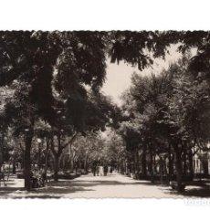 Postales: JACA.- ARAGÓN.- PASEO DEL GENERALISIMO ED. POSTALES VICTORIA. FOTO SICILIA.-CALIDAD FOTOGRAFICA.- . Lote 104188647