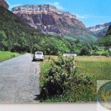Postales: POSTAL DEL PARQUE DE ORDESA - HUESCA - AÑOS 70 U 80.. Lote 104295511