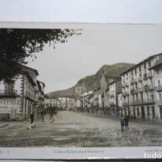Postales: POSTAL GRAUS CALLES SALAMERO Y BARRANCO CM. Lote 104322343