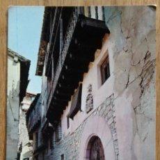 Postales: ALBARRACIN - CALLE PORTAL DE MOLINA. Lote 104349867