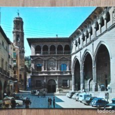 Postales: ALCAÑIZ - PALACIO MUNICIPAL Y LONJA. Lote 104349963