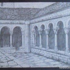 """Postais: (51052)POSTAL SIN CIRCULAR,""""CLAUSTRO ROMÁNICO DE LA CATEDRAL"""",ISABENA,HUESCA,ARAGON. Lote 104525427"""