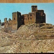 Postales: HUECA - CASTILLO ABADIA DE MONTEARAGON. Lote 236883140