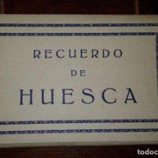 Cartes Postales: RECUERDO DE HUESCA - 10 POSTALES. Lote 105798103