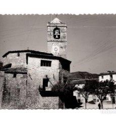 Postales: BOLTAÑA (HUESCA).- PLAZA MAYOR Y IGLESIA .- EDICIONES SICILIA Nº 2.- FOTOGRÁFICA. . Lote 106787231