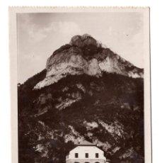 Postales: HECHO - HUESCA - CASA FORESTAL PICO AGÜERO.- FOTOGRÁFICA. . Lote 106788395