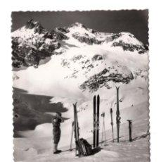 Postales: BALNEARIO DE PANTICOSA (ALT. 1636 M.) - PIRINEO ARAGONES (HUESCA) DESCANSO EN LOS AZULES - FOTOGRAF. Lote 106789699