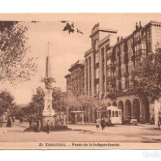 Postales: 29 ZARAGOZA, PASEO DE LA INDEPENDENCIA - EDITOR M.ARRIBAS. Lote 107372647