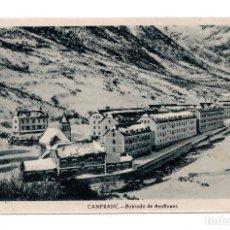 Postales: CANFRAC, HUESCA.- POBLADO ARAÑONES. ED. F. DE LAS HERAS. Lote 107644623