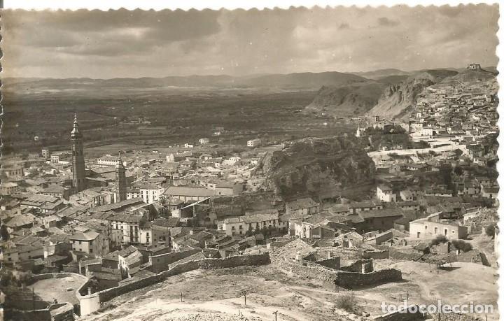 POSTAL CALATAYUD VISTA PARCIAL EDICIONES SICILIA ZARAGOZA E C 1957 (Postales - España - Aragón Moderna (desde 1.940))