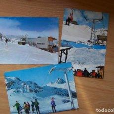Postales: FORMIGAL, HUESCA - LOTE 3 POSTALES ANTIGUAS C1980 SIN USAR. Lote 108014727