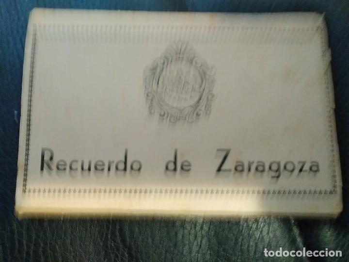 BLOC 10 POSTALES RECUERDO DE ZARAGOZA HOTEL POSADA DE LAS ALMAS (Postales - España - Aragón Antigua (hasta 1939))