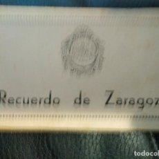 Postales: BLOC 10 POSTALES RECUERDO DE ZARAGOZA HOTEL POSADA DE LAS ALMAS. Lote 108373931