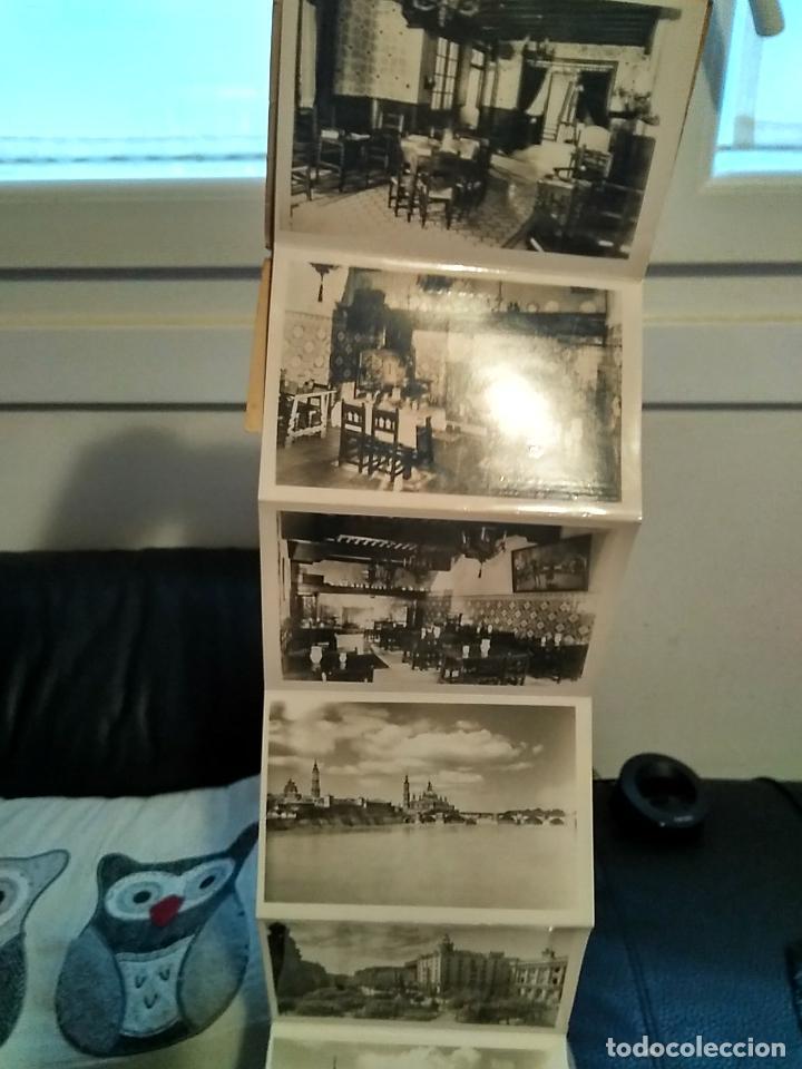 Postales: Bloc 10 postales recuerdo de Zaragoza hotel Posada de las almas - Foto 3 - 108373931