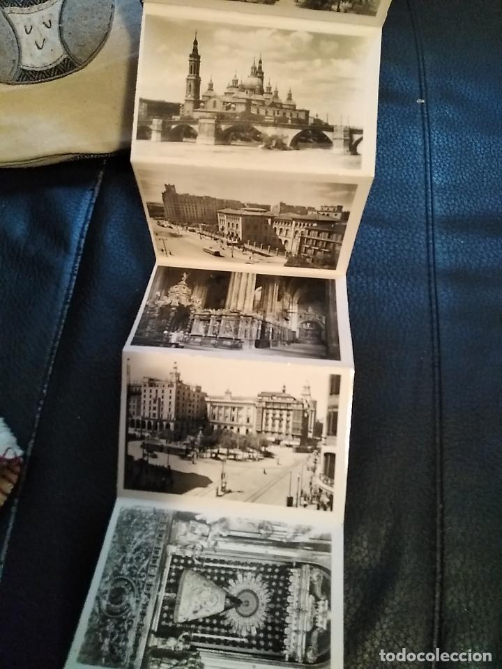 Postales: Bloc 10 postales recuerdo de Zaragoza hotel Posada de las almas - Foto 4 - 108373931