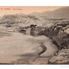 Postales: TIERMAS (ZARAGOZA).- RIO ARAGÓN . ED. F. H. JACA.. Lote 108756703