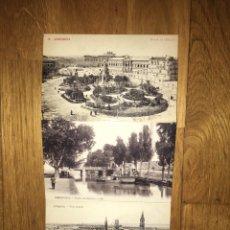 Postales: LOTE 3 POSTALES ZARAGOZA ANTIGUA. Lote 108846764