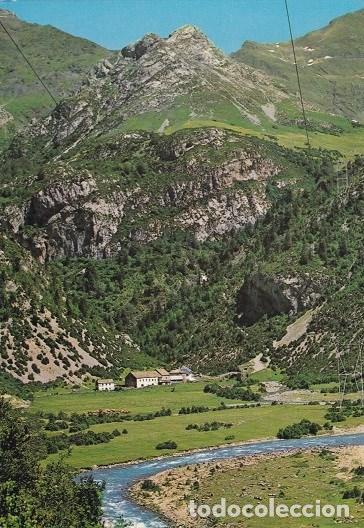 TORLA (HUESCA) 2- BUJARUELO-PIRINEI ARAGONES, VISTE GENERAL Y RIO ARA. ED:SICILIA (466) (Postales - España - Aragón Moderna (desde 1.940))