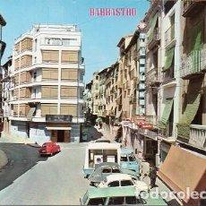 Postales: BARBASTRO - 361 CALLE GENERAL RICARDOS Y PLAZA DE SAN RAMÓN. Lote 109205147