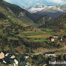 Postales: VALLE DE TENA. PIRINEO ARAGONES (HUESCA) FOTO: PEÑARROYA. ESCRITA CN SELLO (471). Lote 110087651
