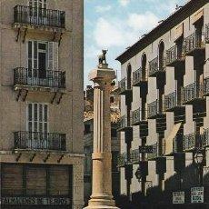 Postales: TERUEL. 27- PLAZA DE CARLOS CASTEL (TORICO). ED: GARCIA GARRABELLA. (472). Lote 110088167