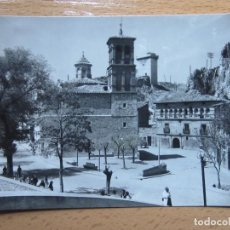 Postales: ALHAMA DE ARAGON. ZARAGOZA. IGLESIA, BAJADA A LA PLAZA. (ED. SICILIA Nº20).. Lote 110116795
