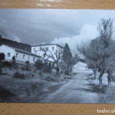 Postales: AGUARON, ZARAGOZA.CASA NTRA. SRA. DE LAS VIÑAS. AÑO 1970, FOTOGRAFICA.. Lote 110117859