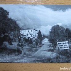 Postales: AGUARON, ZARAGOZA.CASA NTRA. SRA. DE LAS VIÑAS. AÑO 1970, FOTOGRAFICA.. Lote 110117899