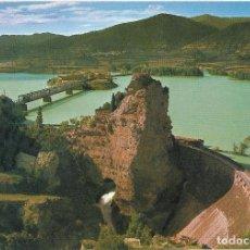Postales: ** PJ116 - POSTAL - PIRINEO ARAGONES - HUESCA - PANTANO DE LA PEÑA - VISTA GENERAL. Lote 110143923